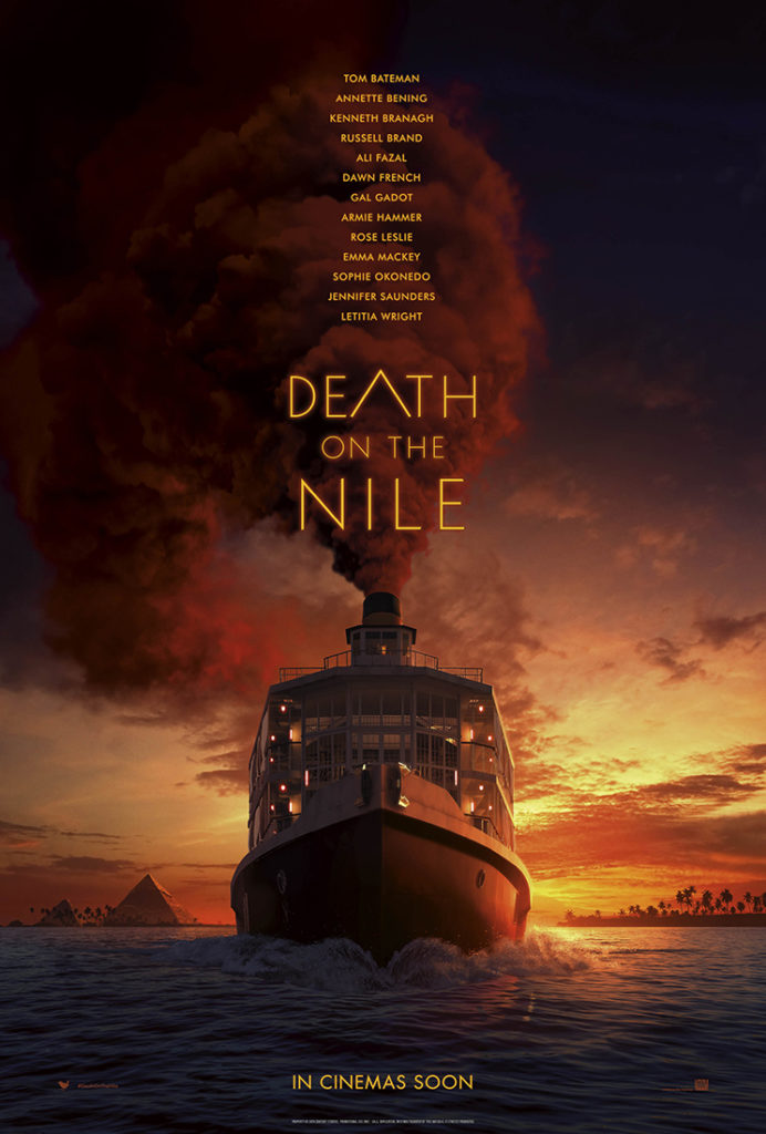 Death on the Nile at Whale Coast Theatre - Cinema in Hermanus