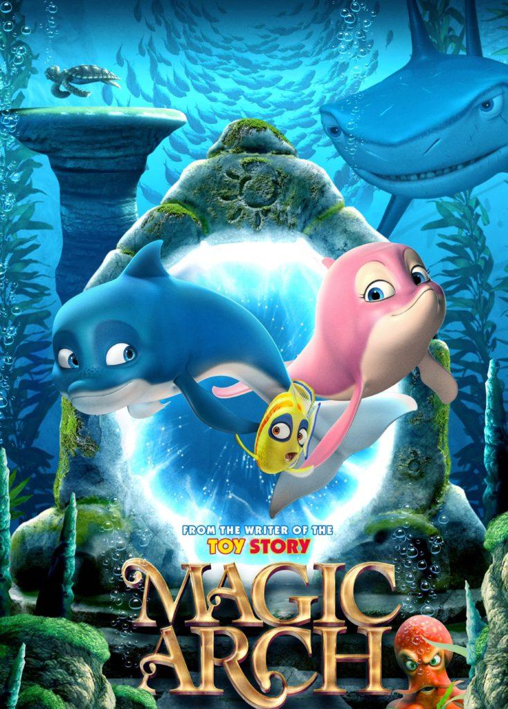 Magic Arch Children Animated Movie at Whale Coast Theatre